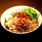 鶏粗挽きキーマ納豆腐
