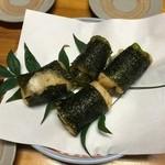 味処 よさこい - 料理写真:自然薯の天ぷら(600円×2)