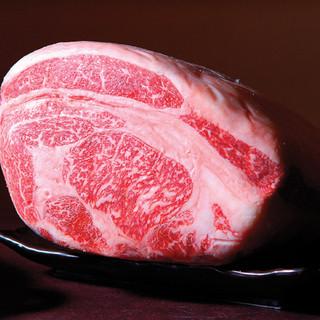 黒毛和牛(最上級A5ランク)をはじめ、こだわりのお肉をご提供