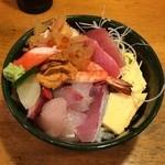 よし祥 - 上散らし丼1,150円