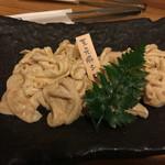 炭火焼 てんま  - 天元豚シロホルモン 500円×2
