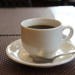 カフェしろくま - コーヒーも、コク、苦みのバランスの良い、美味しいコーヒーでした