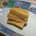 味三昧 - 長芋の漬物 柚子風味