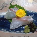 味三昧 - 真鯛の刺身