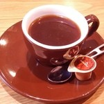 カフェマコト - 食後のコーヒーです。