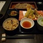 44995188 - 天ぷら蕎麦ランチ (1500円+税)