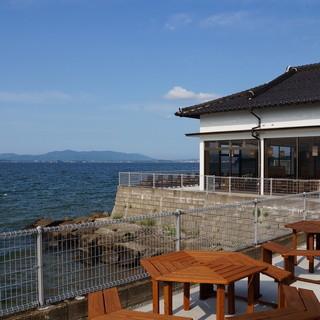 眺望豊かな宍道湖の風景
