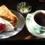 カナディアンコーヒーハウス - 料理写真:モーニングセット