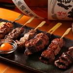 心斎橋 金のつくねと3倍鶏の焼き鳥 串琢 - 料理写真:
