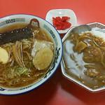 ●2015 #098 @1日10食限定/正油ラーメン&ミニカレー ¥880