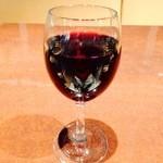 サロン・ド・テ・ロンド - 夕方の赤ワイン