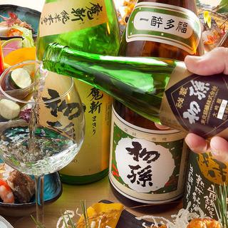 こだわりの日本酒・ワイン
