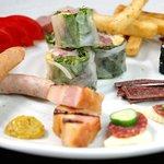 ダイニングバーYou遊 - シェフの気まぐれプレート¥1500 2~3名さまでいろいろ食べられます。