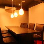 炎麻堂 - 3Fは個室となります。 10名様前後まで対応できます。