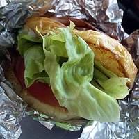 ステーキハウスひのき-ハンバーガー(630円)