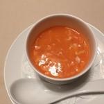 45000949 - 蟹の卵と蟹肉のフカヒレスープ