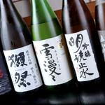 串の子 - 日本酒各種取り揃えております。
