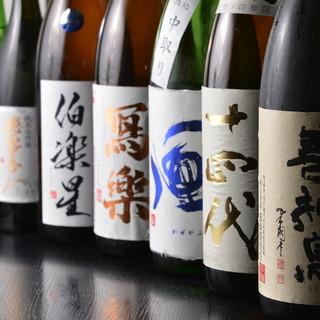 女性にも!美味しい日本酒で至福の時を・・・