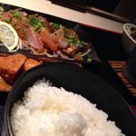 博多 魚市 - 海鮮ゴマダレ御膳(900円)を頂きました。