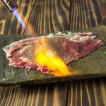 肉寿司 - 「さしとろ」  必食です!