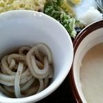 45004294 - 麦とろ(自然薯)丼セット(2015.11)