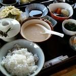 45004300 - 麦とろ(自然薯)丼セット(2015.11)