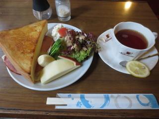 コーヒーショップナカムラ - モーニングセット 600円(2015.11)