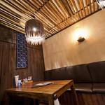 南国食堂 ちむどんどん - 落ち着いた雰囲気の掘りごたつ式のお座敷★