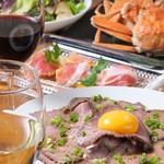 Chopstick Cafe 汁べゑ - 近江町市場より毎日仕入れる新鮮な魚介類を中心に、肉料理、パスタに丼、パティシエ特製のスイーツまで、「旨いもん」を集めてご用意しています。