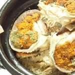 しげ乃木 - 料理写真:香箱蟹の土鍋ご飯