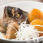 鮮魚のあら煮