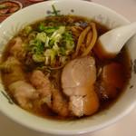 河むら - 醤油ワンタン麺