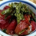 新竹三楽 - 料理写真:マグロ丼 大600円税込