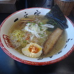 函館麺や 一文字 - 塩ラーメン