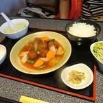 45015048 - 豚肉団子甘酢ランチ780園