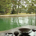 ワインとお宿 千歳 - 1Fダイニングからの風景