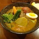 奥芝商店 - 上品上ノ国産フルーツポークの角煮カリーの函館限定ごろごろスープ