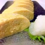 花山 - 料理写真:出し巻きたまご