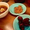 特製天ぷら 七福 - 料理写真:塩辛、柴漬け