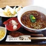 いなかそば 田 - 天ぷらそば 1350円 (^^b