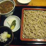 4502602 - もり蕎麦と小カレー丼