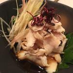 鶴屋 - 『みの湯引き』様(メニューにはありません)みののシャキッとした食感に柔らかい肉の味わい~せんまい刺し様同様これもそうと気に入りましたよ♡