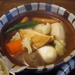 サガン - 十種類の具材のおでん定食(おでん)