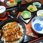 鮨処魚徳 - ひつまぶし 竹 ¥3,300