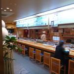 鮨処魚徳 - カウンター