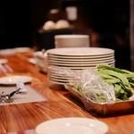 ヨシミチ - カウンターキッチン