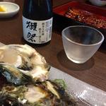 姫沙羅 - 岩ガキと獺祭