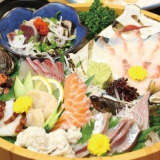 周南市自慢の新鮮な海鮮料理をお楽しみください♪