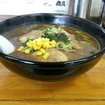 丸久ラーメン - 料理写真:味噌チャーシュー麺大盛950円