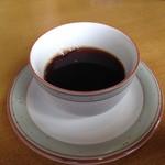 千丸 - 食後のコーヒーサービス